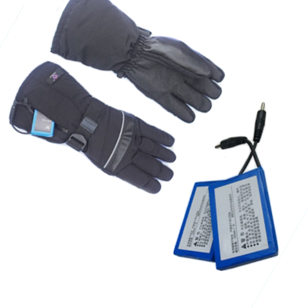 Heat-resistant gloves special lithium battery