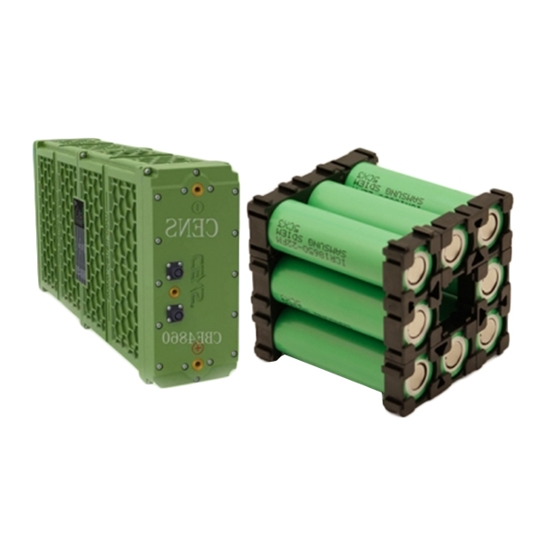 Large capacity lithium battery pack