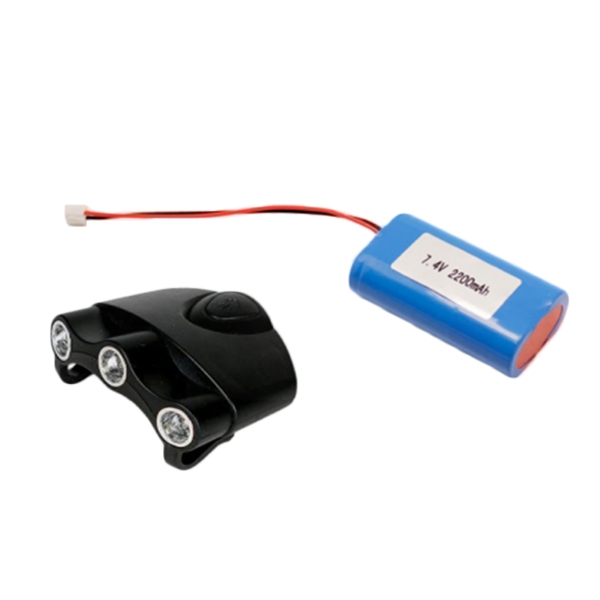 Outdoor Headlight T6 Lithium Battery Pack