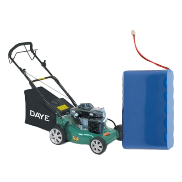 Portable test electric lawn mower equipment lithium battery